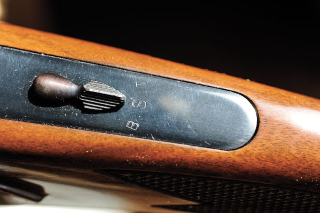 Safety mechanism for the Remington 3200 Shotgun