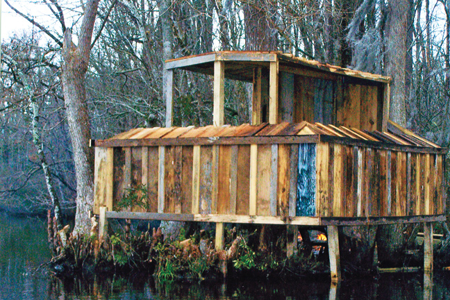 Building a Duck Blind