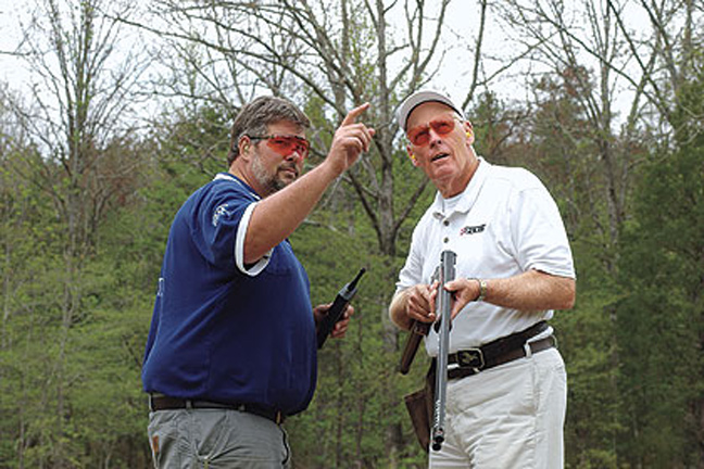 Improving your shooting skills with trap practice