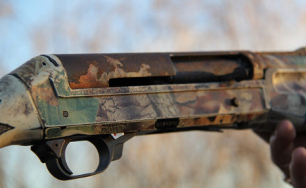 Shotguns and saltwater don't mix. WildFowl Editor, Skip Knowles. snapped a shot of this rust-eaten