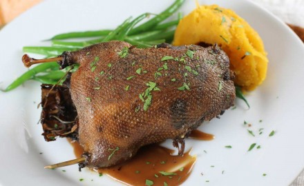 This Duck in Apple Cider Recipe is excellent for teal, mallards, wood ducks, pintails or other