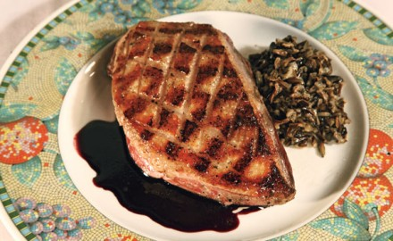 Grilled Goose and Wild Rice Recipe