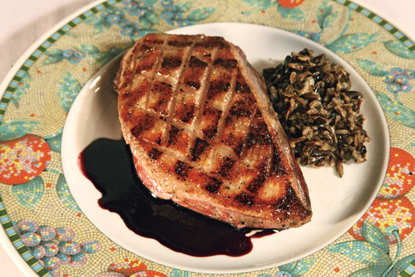 Grilled Goose Wild Rice Recipe