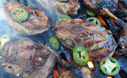 "Sweet Jalapeño Grilled Duck Recipe (Photo courtesy of ""The Sporting Chef"")"