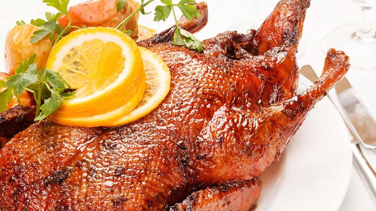 Berry Nice Goose Recipe