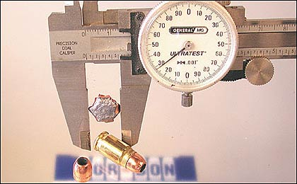 By Phil W. Johnston    The .32 bullet, which is actually closer to .31, expanded to