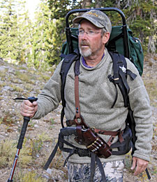 Galco's Kodiak shoulder rig is perfect for the great outdoors.