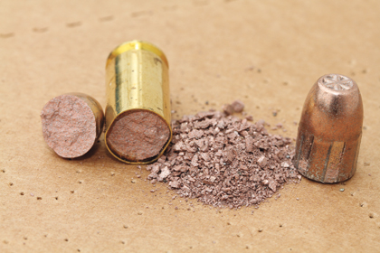 Frangible bullets play a vital role in training.