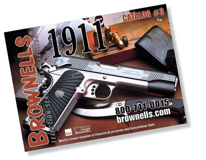 The third edition of Brownells 1911 catalog has a new layout designed for easy use and quick reference.