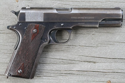 By Patrick Sweeney    The Army wanted a .45 because of the .38's poor performance