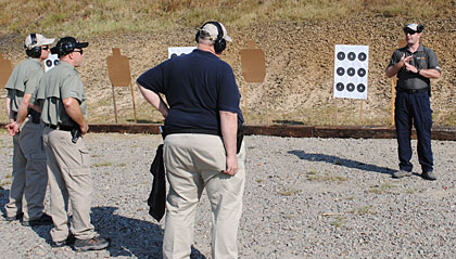 Six Handguns TV contest winners learn from a pro.