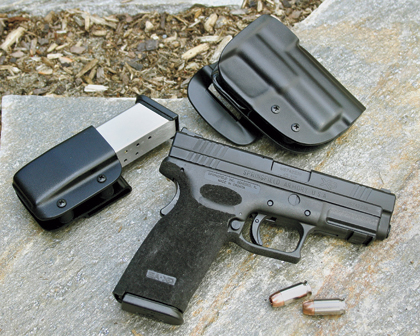 By David Kenik    I'm a big-bore fan. I was delighted when the Springfield XD 45 was