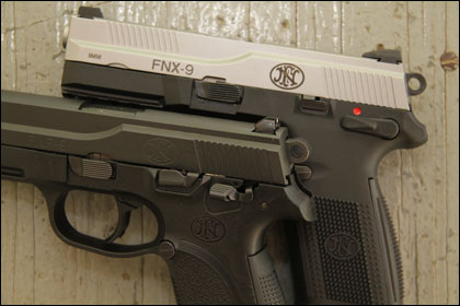 With the new FNX-9, FNH USA might just have perfected the traditional DA/SA semiauto.