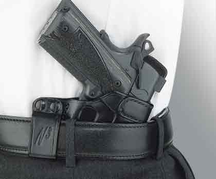 By J. Scott Rupp    This offset belt-loop holster has an extremely flat profile and
