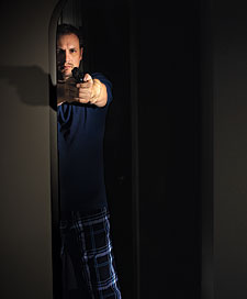 If somebody breaks into your house, are you prepared--really prepared--to defend yourself?