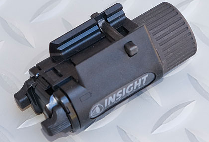 The newest weapon-mounted light from Insight Technology is an LED version of its popular M3 Tactical.