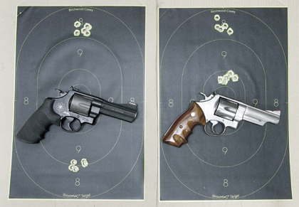 Recoil and velocity have huge influences on handgun zeroing and even ammo selection.