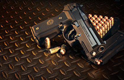 Stoeger packs a Big .45 punch in its economical Cougar pistol.