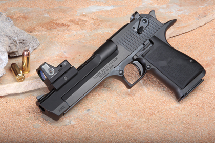 Magnum Research's Desert Eagle gets a Picatinny rail on its 25th anniversary.