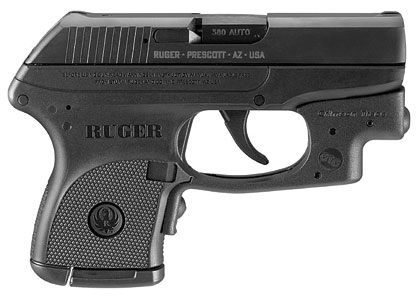 The Ruger LCP Laserguard Handgun