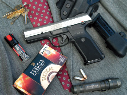 By Dave Spaulding    I admit I like the Ruger SR9 9mm pistol. While the tests in