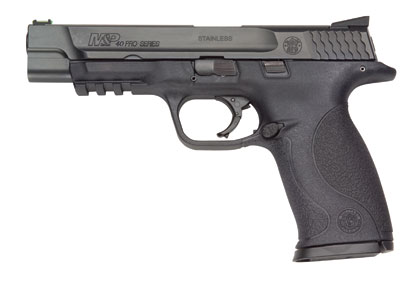 By J. Scott Rupp    M&P40 5-inch.So our friends at S&W weren't ready for us