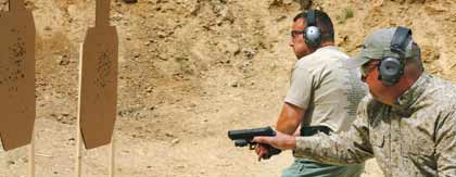 Dave Harrington's class is a far cry from the average user-friendly handgun course