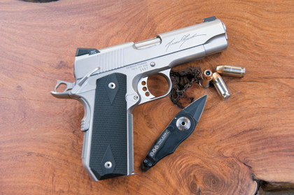 Ed Brown's new Massad Ayoob Signature 1911 is a fitting tribute to an industry icon.