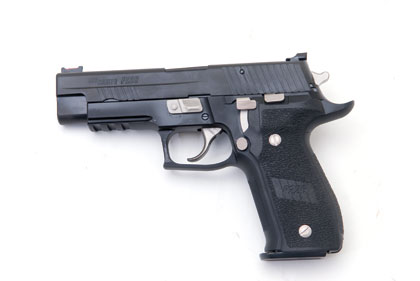 The SIG Sauer P226 is one of the company's most popular pistols. In this country it has been
