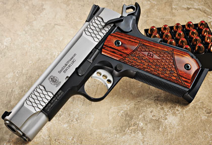 Think nothing new can be done to a 1911? Check out the redesigned E series.