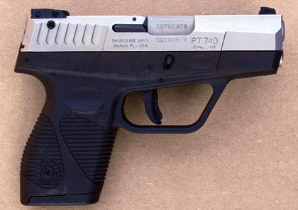 Taurus PT740 Slim