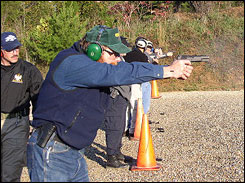 Tactical Defense Institute combines three levels of handgun training into one, three-day format.