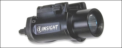 Insight Tech-Gear Packs A 150 Lumen Powerhouse Into Its New Tactical Rail-Mounted Led Light--The WX150 Procyon.