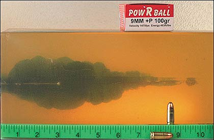 By Phil W. Johnston    The 9mm penetrated the ballistic gelatin 103⁄4 inches
