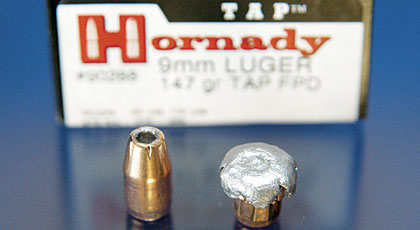 Q:   Recently at the range, I was picking up .45 ACP cases after a heavy rain. I noticed that the