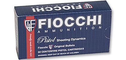 Fiocchi 7.63 Mauser Pistol Cartridge