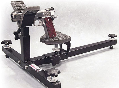 By Staff Report    CTK Precision introduces its P3 Ultimate Gun Vise, which fits all