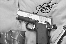 By Walt Rauch    With 1911s like this Kimber ULTRA TEN II, many more parts can be