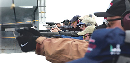 A Grand Champion shooter teaches the fundamentals of competition shooting.