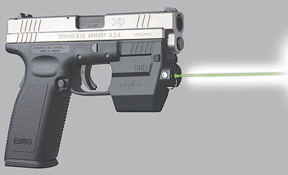 By Kimberly Madelon    Laser Aiming Systems announces its Viridian SXD green laser
