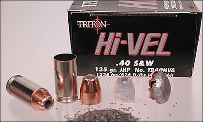 Triton .40 S&W 135-Grain Ammo