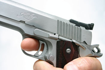 by Scott E. Mayer  When it comes to shooting a handgun accurately, we've been drilled to slowly