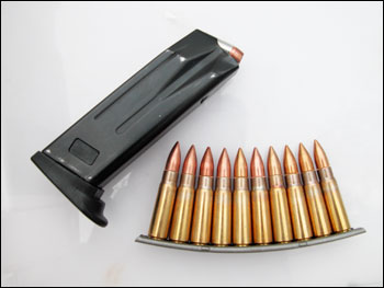 Magazine Or Clip Handguns