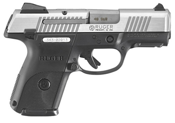 The Ruger SR40c is a striker-fired pistol that's less than seven inches long overall and weighs just a hair over 23 ounces.
