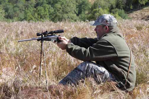 Handgun hunting is a real challenge because the shooting is more difficult and therefore you have to get closer.
