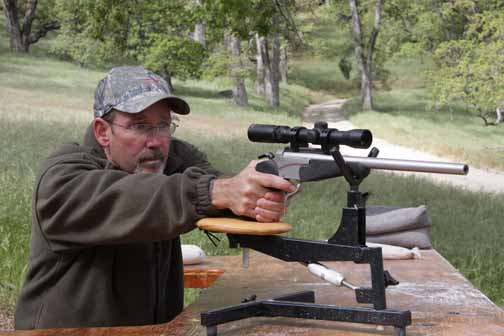 By J. Scott Rupp    On three recent hunts for Handguns TV I've been shooting a Thompson/Center