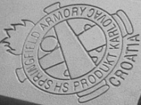 Springfield's logo and the pistol's point of origin, Croatia, are rollmarked on the top of the slide.