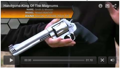 King Of The Magnums: The 500 S&W