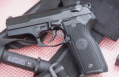 The Stoeger Cougar is intended for serious defensive purposes such as law enforcement operations.