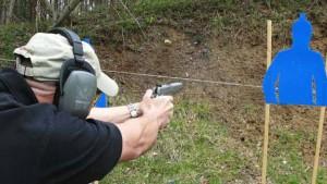 firing Taurus M1911SS-9